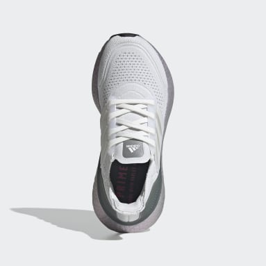 Youth 8-16 Years Running White Ultraboost 21 Shoes