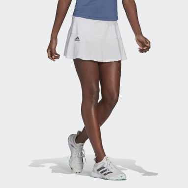 Women's Tennis White Tennis Match Skirt