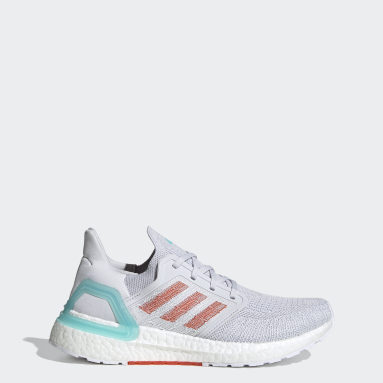 Women Running Grey Primeblue Ultraboost 20 Shoes
