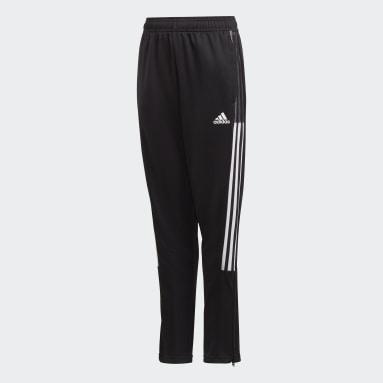 Pantalon de survêtement Tiro 21 noir Adolescents Soccer