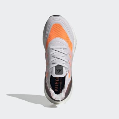 Scarpe Ultraboost 21 Grigio Uomo Running