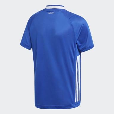 Jongens Handbal Blauw Frankrijk Handball Replica Shirt