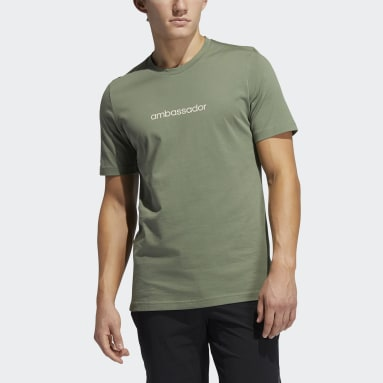 Heren Golf Groen Adicross Concert T-shirt