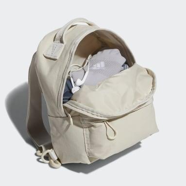 Women Handball Beige Mini Backpack