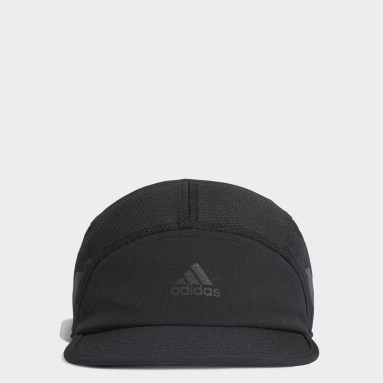 Casquette AEROREADY Five-Panel Runner Noir Hockey Sur Gazon