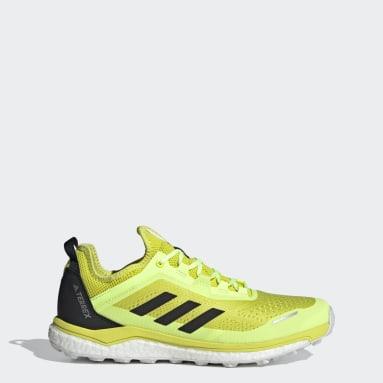 Sapatos Flow TERREX Agravic Amarelo TERREX