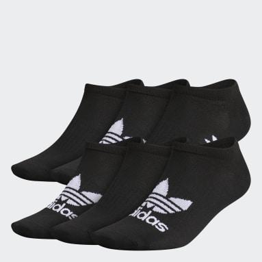 Men Originals Black Classic Superlite No-Show Socks 6 Pairs