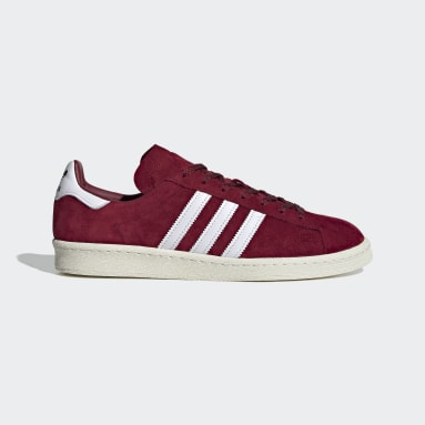 Men Originals Burgundy Campus 80s Shoes