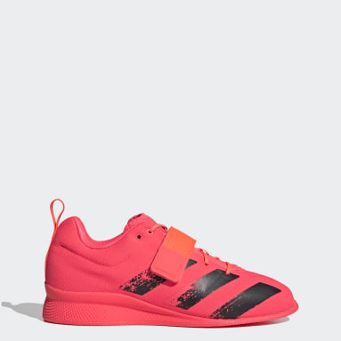 Gym & Training Pink Adipower Weightlifting II Shoes