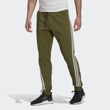 Men Sportswear Green adidas Sportswear 3-Stripes Sweat Pants