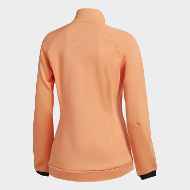 Campera polar Terrex Stockhorn Fleece Naranja Mujer TERREX
