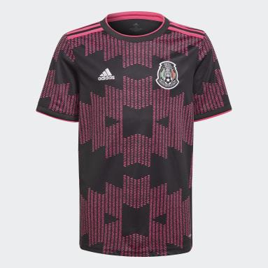 Børn Fodbold Hvid Mexico hjemmebanetrøje