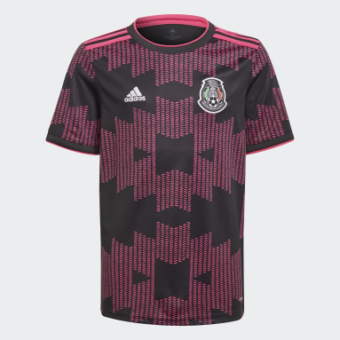 Kinderen Voetbal Wit Mexico Thuisshirt