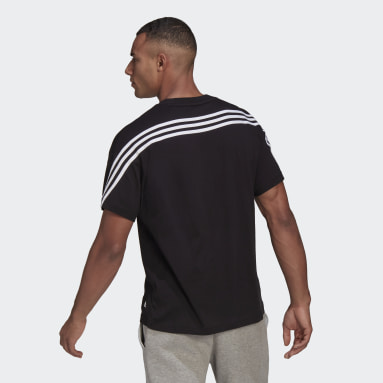 Men Sportswear Black adidas Sportswear 3-Stripes Tee