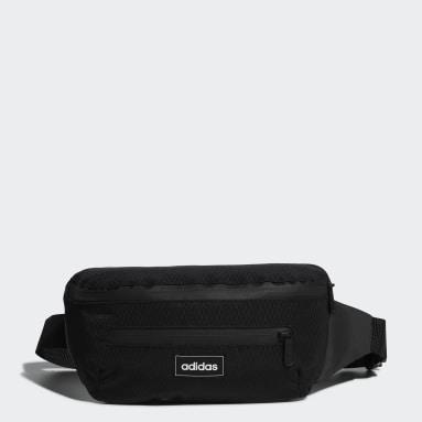 Sport Inspired Black Street Waist Bag