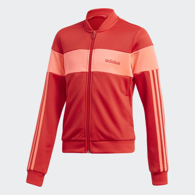 Youth Soccer Red Sereno Track Jacket