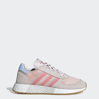 Women Originals Pink Marathon Tech Shoes