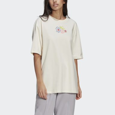 Women Originals White Adicolor Essentials Tee