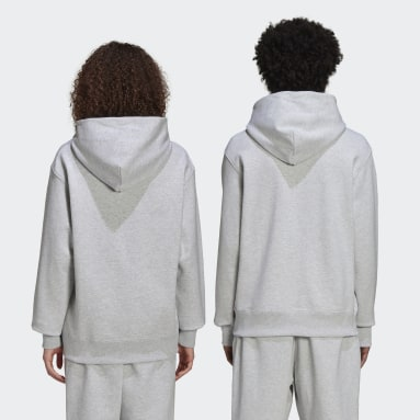 Originals Grey Pharrell Williams Basics Hoodie (Gender Neutral)
