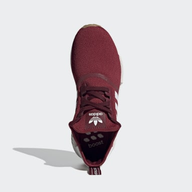 Sapatos NMD_R1 Bordô Originals