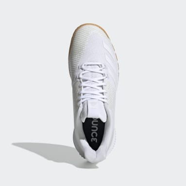Women Netball White Crazyflight Bounce 3 Shoes