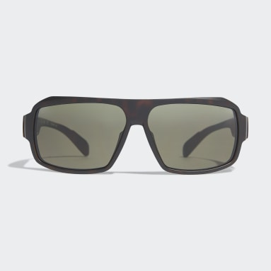 Running Beige Sport Sunglasses SP0026