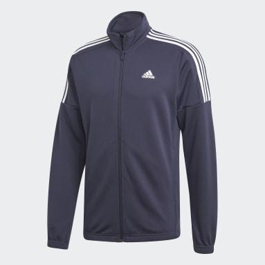 Men Sportswear Blue Team Sports Tracksuit