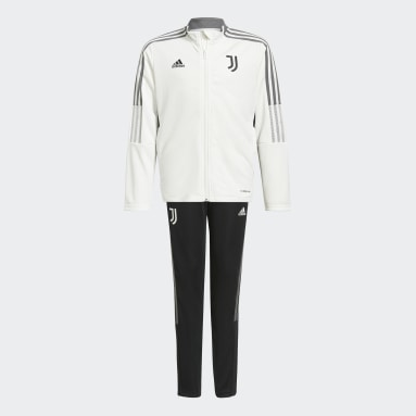 Juventus Tiro Track Suit Bialy