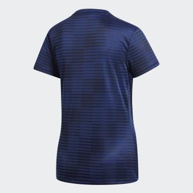 Polera Condivo 18 Azul Mujer Fútbol