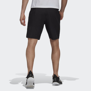 Men Tennis Black Tennis Parley Ergo Shorts