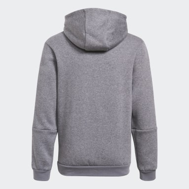 Youth Lifestyle Grey Tiro 21 Sweat Hoodie