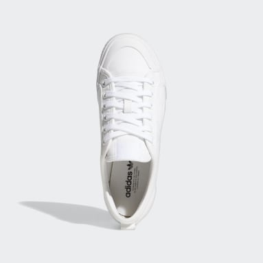 Women's Originals White Nizza Trefoil Shoes