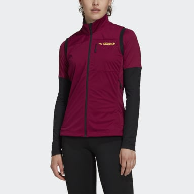 Dames TERREX Bordeaux Terrex Agravic XC Soft Shell Bodywarmer