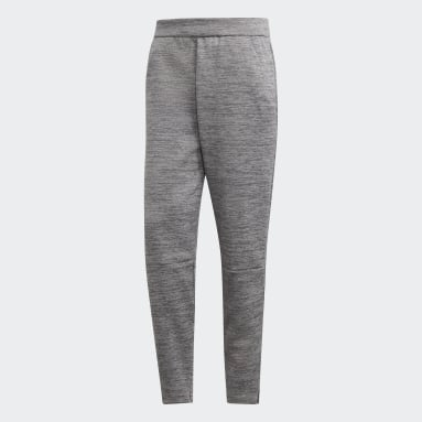 Muži Sportswear šedá Kalhoty adidas Z.N.E. Tapered