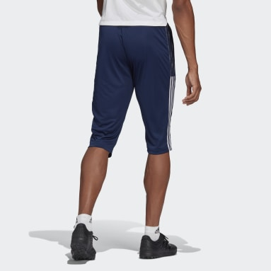 Men Football Blue Tiro 21 3/4 Pants