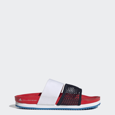 Dam adidas by Stella McCartney Röd adidas by Stella McCartney Lette Slides