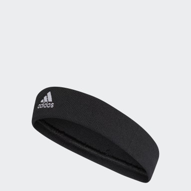 Field Hockey Black Tennis Headband