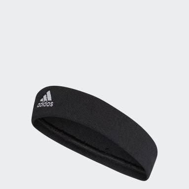 Yoga Black Tennis Headband