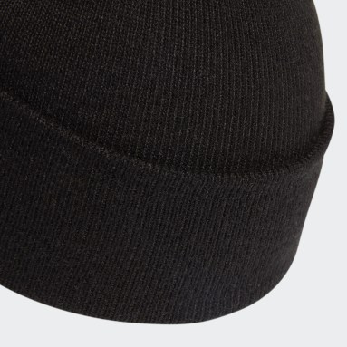 черный Шапка с помпоном Adicolor