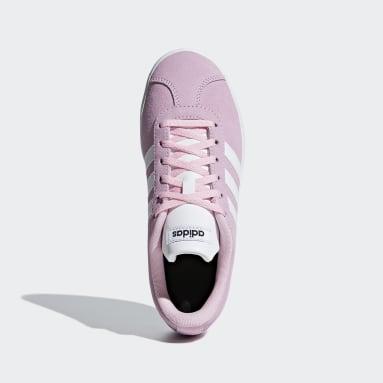 Kids Walking Pink VL Court 2.0 Shoes