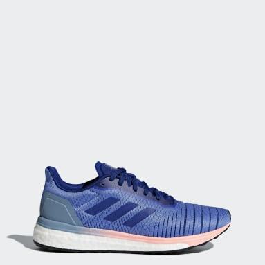 Tenis Solar Drive Violeta Mujer Running