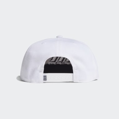Field Hockey White Snapback Cap