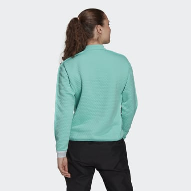 Women TERREX Green Terrex Hike 1/2 Zip Fleece