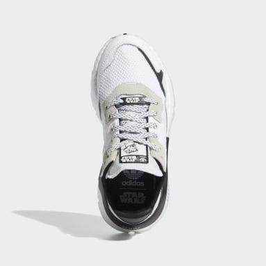 Kids Originals White Nite Jogger Star Wars Shoes