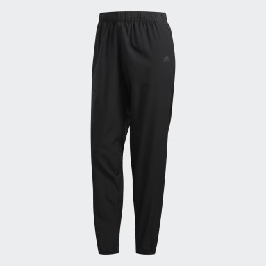 Women Running Black Astro Pants