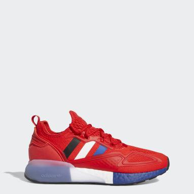 Originals Red ZX 2K Boost Paris Shoes