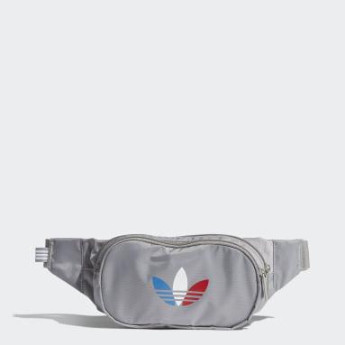 Originals Grey Adicolor Tricolor Classic Waist Bag