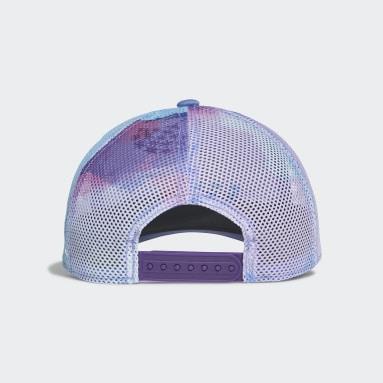Children Training Purple Frozen Graphic Hat