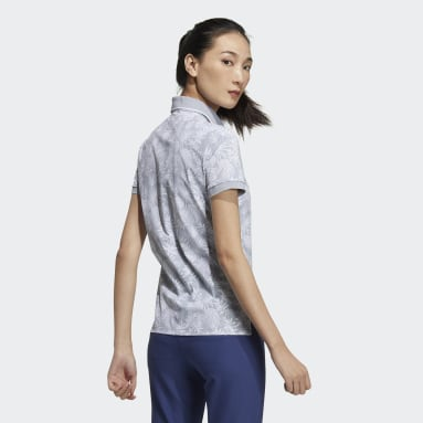 Women Golf Grey Polo Shirt