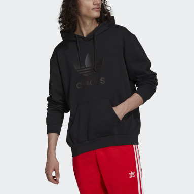 Sudadera con capucha Graphics Trefoil Series Negro Hombre Originals